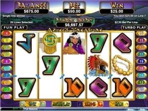 Aztecs Treasure Win
