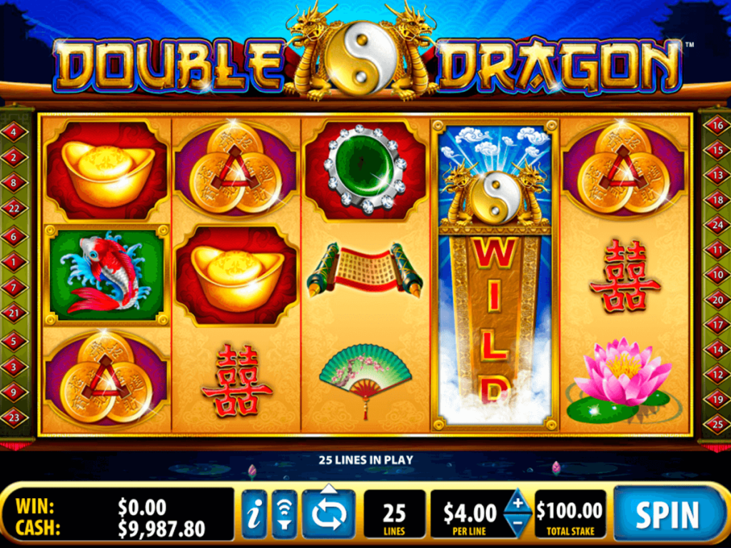 Double Dragon Slots By Bally Play Free Or Real Money