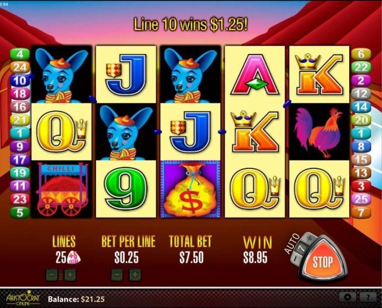 More Chili Slot Machine Online