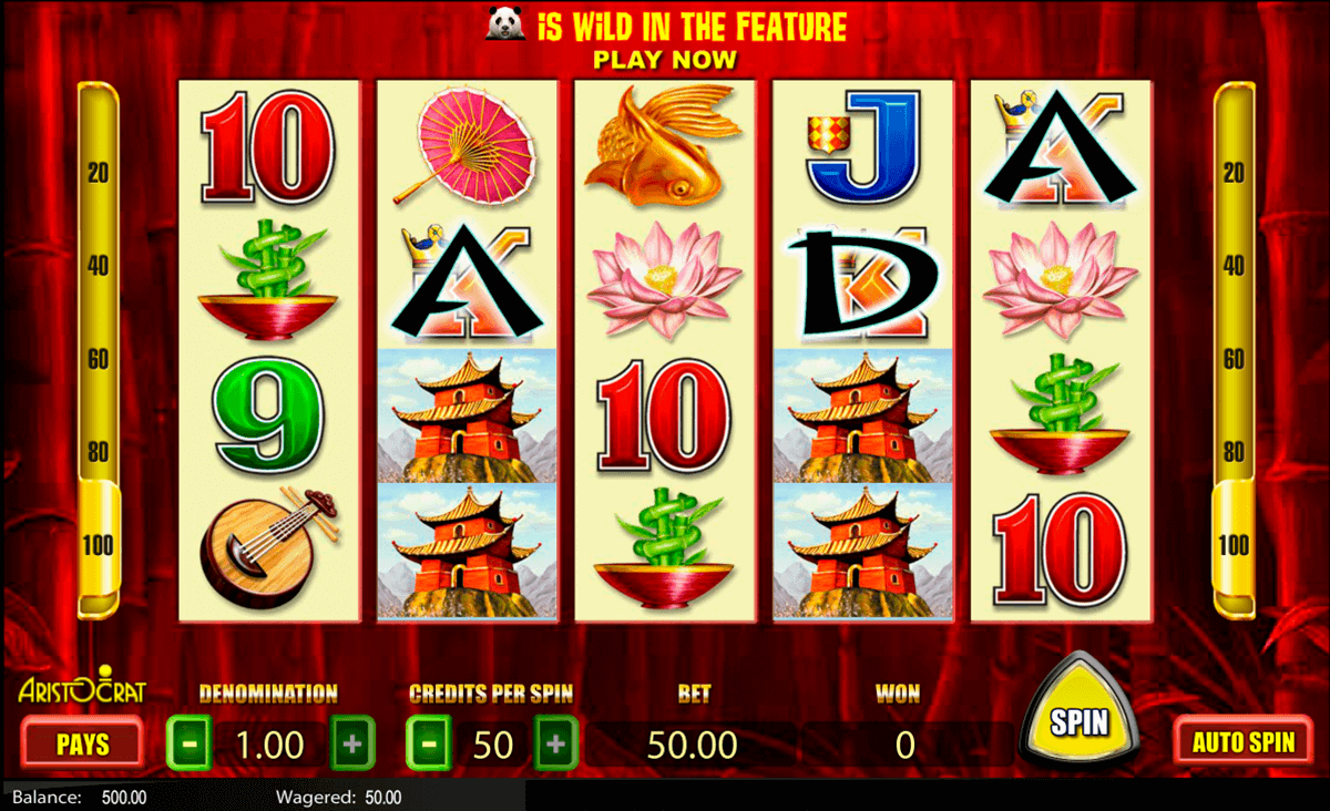 Wild Panda Slots By Aristocrat Play Free Or Real Money