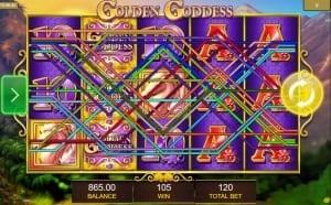 Golden Goddess Win