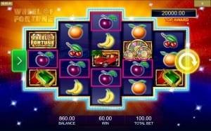 Wheel of Fortune Win